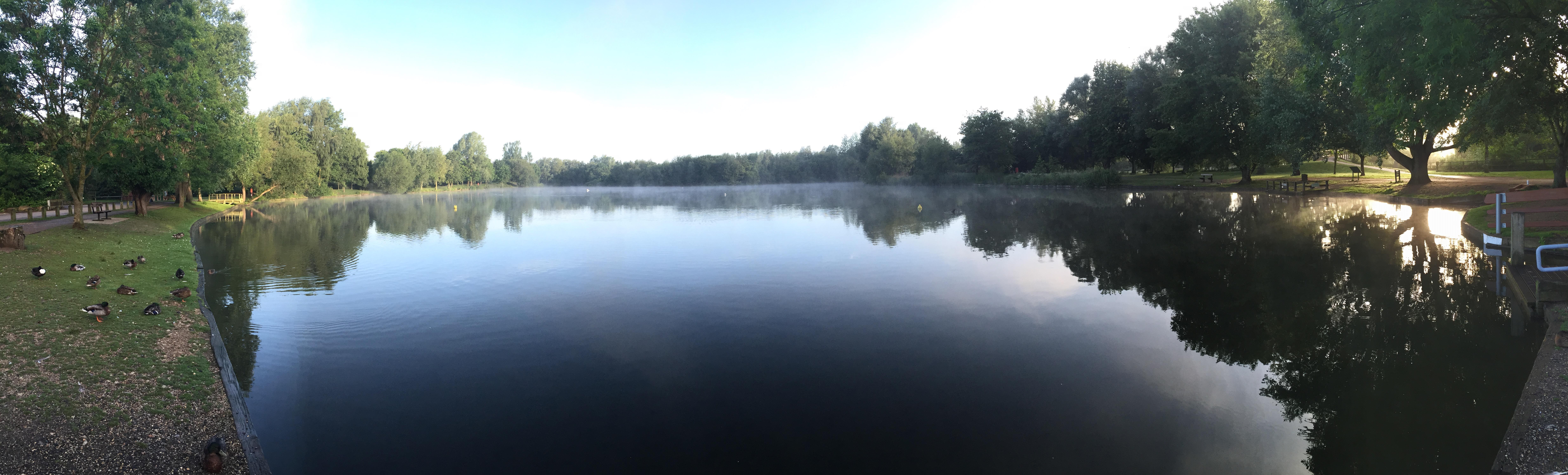 Needham Lake in the Heart of Suffolk